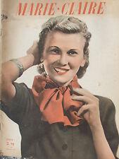 Marie Claire n°184 (1er fév 1941) La jupe gilet - Capuchons