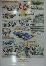 2016 Indianapolis 500 Winner Alexander Rossi 100TH Running Collector Poster