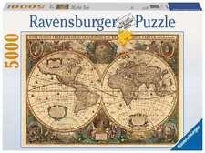 Puzzle Ravensburger 17411 Mappemonde Antique Carte Géographique Globe 5000 Pièce