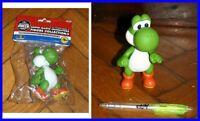 Figura 11cm Yoshi Dragón Drake Banpresto Super Mario Bros Kart Land Nintendo