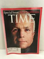 TIME Magazine Sept 8 2008 Special Issue The Republicans John McCain Cover