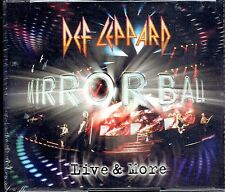 CD - DEF LEPPARD - Mirror Ball - Live & More