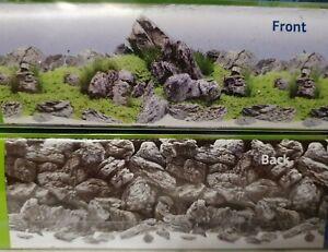 Juwel Fotorückwand Aquascape / Stone XL Poster Rückwand 150x60cm Aquarium