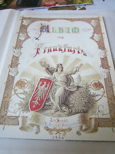 Frankfurt Archiv F 3 bis 1866 3081E Album Frankfurt 1860 Philipp FreyFaksimile