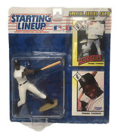 Starting Lineup Frank Thomas Big Hurt 2 Cards & MLB Figure, Kenner 1993 Baseball