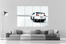 Nissan GTR Neige Snow Poster Grand format A0 Large Print
