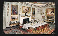C1920s Card View of the dining room, Queen Marys Dollhouse, Windsor