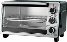 BLACK+DECKER TO1950SBD 6-Slice Convection Countertop Toaster Oven, Includes Bake
