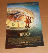 Hugo in 3D Poster Original 2011 Promo 11x17