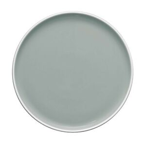 $84 NWT. Noritake ColorTrio Stax 14-Inch Round Platter in Black Out Gray