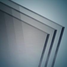 bruchfest /& vielseitig anwendbar glasklar 3 mm stark transparente Acrylglas- Plexiglas-Platte 115x100 mm gepr/üfter UV-Schutz Acrylglas-Zuschnitt Rechteckig beidseitig foliert