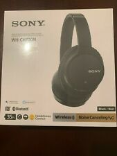 New Sony WH-CH700N Wireless Noise Cancelling Over-the-Ear Headphone Black