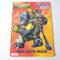 "Teenage Mutant Ninja Turtles, ""Bad Guys Rule"" Jumbo Coloring Activity Book 2016"