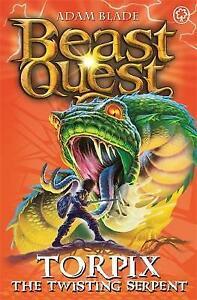 Torpix the Twisting Serpent: Series 9 Book 6 (Beast Quest), Blade, Adam , Very G