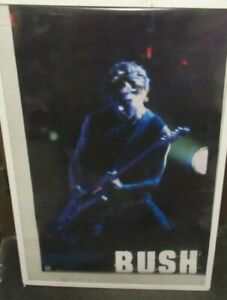 BUSH POSTER NEW 2000 RARE VINTAGE COLLECTIBLE OOP LIVE  GAVIN ROSSDALE