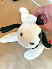 TY BEANIE BABY SPOT - THE BLACK AND WHITE DOG 1993 - MINT - RETIRED, style 4000