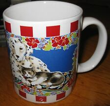 Dalmation Dog with Cat Mug by Otagiri-Advantage Collection