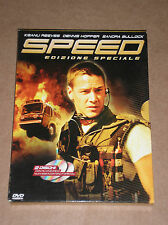SPEED (KEANU REEVES, DENNIS HOPPER, SANDRA BULLOCK) - DVD SPECIAL ED. 2 DISCS