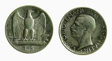 pci3652) Vittorio Emanuele III  (1901-1943) 5 lire aquilino 1926 BL