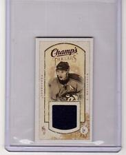 ILYA KOVALCHUK 09/10 CHAMPS CHAMP'S MINI THREADS JERSEY MT-IK Thrashers Card