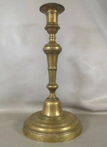 BOUGEOIR Bronze style Empire circa 1900 debut XXe bougie chandelier collection A