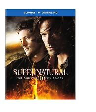 SUPERNATURAL - SEASON 10  -  Blu Ray - Sealed Region free - sealed IN STOCK!