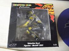 MINICHAMPS RIDING FIGURE 2005 MOTOGP VALENTINO ROSSI LAGUNA SECA GAULOISES LTD