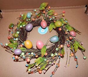 Easter Egg Twig Wreath