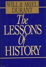 The Lessons of History, Will Durant, Ariel Durant, Good Book