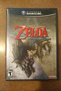 Legend of Zelda: Twilight Princess GameCube Complete Excellent Condition