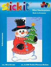 Mini Stecksystem Schneemann ca. 8.500 Teile Nr. 41215 mit XXL-Steckvorlage
