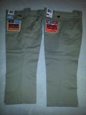 lot 2 pr sz 4 Go Khaki Stain Defender Pants by Dockers Pleated Nwt boys uniform