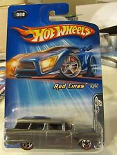 Hot Wheels 8 Crate Red Lines #098 Gray! with redline tires