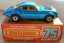 Matchbox Superfast Pontiac Firebird in OVP von Lesney England