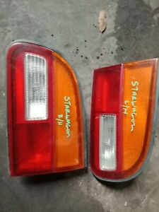 MITSUBISHI STARWAGON 1999 LEFT OR RIGHT HAND TAIL GATE TAIL LIGHT TAILLIGHT