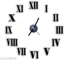 DIY Wall Clock High quality 3D effect EVA Material DIY Your Own Excellent Style