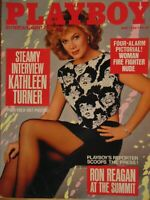 Playboy May 1986 | Kathleen Turner Christine Richters     #1186+