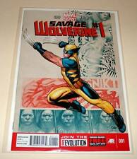 SAVAGE WOLVERINE # 1  Marvel Comic  March 2013  NM