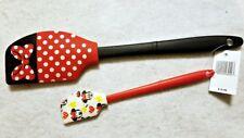 DISNEY PARKS Minnie Mouse BUTTER SPATULA Set of 2 Emoji - Kitchen Utensil - NEW