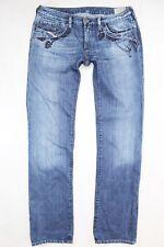 """DIESEL """"KYCUT"""" straight blue jeans W31 L34"""
