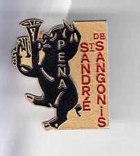 RARE PINS PIN'S .. ANIMAL COCHON PORC PIG MUSIQUE PENA ST ANDRE SANGONIS 34 ~C1