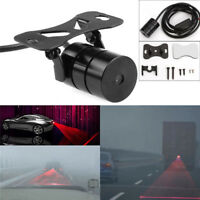 Universal Red Car Laser LED Fog Light Rear Anti Collision Signal Warning Lamp FO