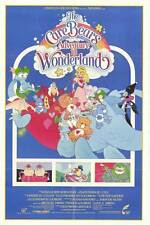 CARE BEARS ADVENTURE IN WONDERLAND Movie POSTER 27x40 Eva Almos Alyson Court Bob