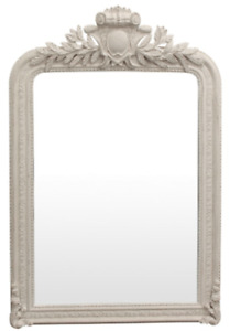 Therese White Wall Mirror
