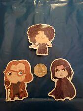 Harry Potter Bellatrix Lestrange Moody Snape Chibi Vinyl Decal Sticker Laptop