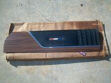 1972 Satellite Sebring Road Runner GTX NOS MoPar Right DOOR UPPER TRIM PANEL