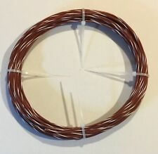 E18 Teflon Wire Brownwhite Awg 18 Type E 40 Ft 1930 Stranded Mil168784