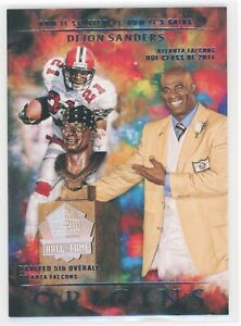DEION SANDERS 2021 PANINI ORIGINS HOW IT STARTED HOW ITS GOING #HSG5 FALCONS