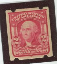 U.S. Stamps Scott #320 MINT,LH,VF-EF, brinkerhoff Vend Perfs (G9233N)
