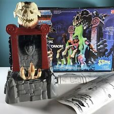 masters of the universe Slime Pit Playset Complete With Box - Vintage 1986 Motu